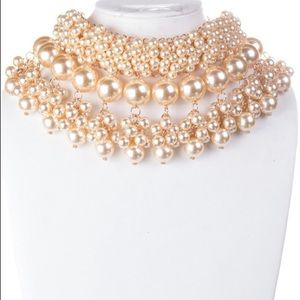 MULTI-SIZED PEARL STRAND NECKLACE